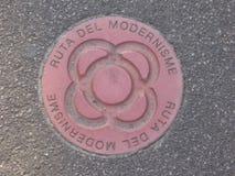Ruta del modernisme Barcelona 2008 Arkivbild