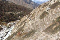Ruta del viaje en India-3 Foto de archivo