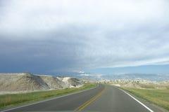 Ruta escénica del parque nacional de los Badlands Fotografía de archivo libre de regalías