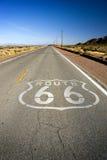 Ruta histórica 66 fotos de archivo libres de regalías