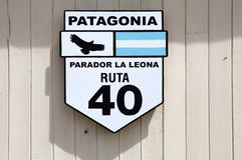 Ruta 40 i Argentina Royaltyfri Fotografi