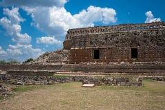 Ruta puuc tempel van Kabah royalty-vrije stock foto's