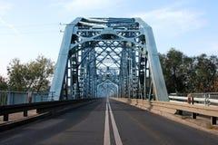 Ruta a través del puente Foto de archivo libre de regalías