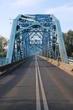 Ruta a través del puente foto de archivo