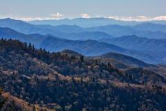 Ruta verde azul de Ridge fotos de archivo libres de regalías