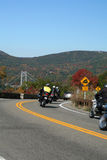 Ruta verde de la montaña del oso Foto de archivo