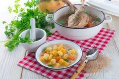 Rutabaga soup Royalty Free Stock Image