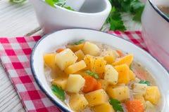 Rutabaga soup Stock Photos