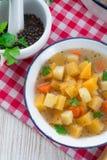 Rutabaga soup Royalty Free Stock Photography