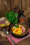 Rutabaga soup. A fresh and tasty Rutabaga soup Stock Image