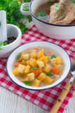 Rutabaga soup Stock Photography