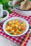 Rutabaga soup Stock Photography