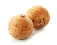 Rutabaga on white background Stock Photos