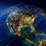 Rutas de aire principales en Norteamérica