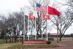 Rutgers Athletes Glen Royalty Free Stock Image