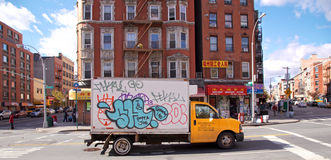 Rutgers-Straße Chinatown Lizenzfreie Stockfotos