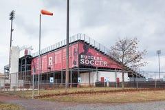 Rutgers University Soccer Field Stock Image