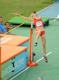 Ruth Beitia of Spain Stock Image