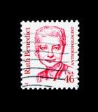 Ruth Benedict, grande serie dos americanos, cerca de 1995 Imagem de Stock Royalty Free