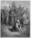 Ruth e Boaz Immagini Stock Libere da Diritti