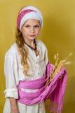 Ruth il Moabitess, festa ebrea di Shavuot Immagine Stock Libera da Diritti