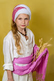 Ruth the Moabitess, Jewish holiday of Shavuot Royalty Free Stock Image