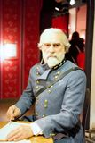 Rutherford B. Hayes Wax Figure. Rutherford Birchard Hayes was the 19th President of the United States. Rutherford Birchard Hayes wax figure is located in Madame Royalty Free Stock Photos