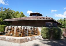 Beaulieu Vineyard in Napa Valley. Royalty Free Stock Image