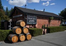Elizabeth Spencer Winery in Napa Valley. Stock Images
