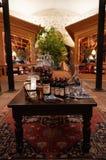 Interiors of the Inglenook, Historic Napa Valley Wine Estate in Napa Valley. Royalty Free Stock Photos