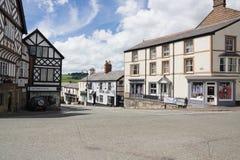 Ruthin North Wales Stock Image