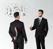 Ruthless business concept Stock Photography