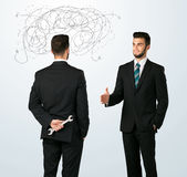 Ruthless business concept Stock Photo