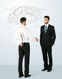 Ruthless business concept Royalty Free Stock Photo