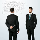 Ruthless business concept Royalty Free Stock Photography
