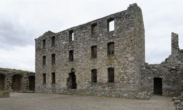 Ruthven Barracks stock image