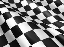 rutig flagga royaltyfri illustrationer