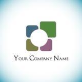 Rutig logo Royaltyfri Foto