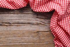 rutig tablecloth Royaltyfri Fotografi
