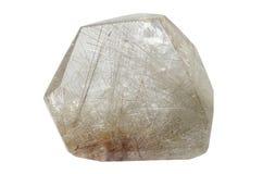 Rutilated石英-天使头发 库存图片