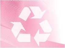 Réutilisation du symbole d'eco Images stock