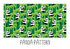 Rutina de la panda Imagenes de archivo