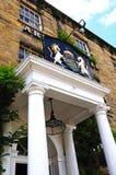 Rutland Arms Hotel, Bakewell Foto de Stock Royalty Free
