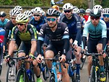 2019 Rutland-Melton Cicle Classic: Dan Bigham of Ribble Pro Cycling in the Peloton. The Rutland-Melton Cicle Classic is a professional one day cycling race UCI stock images