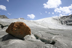 Rutor glacier Stock Photos
