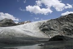 Rutor glacier Stock Images
