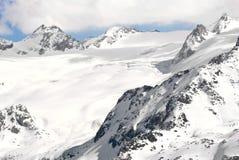 Rutor Glacier Royalty Free Stock Photography