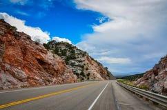 Rutt 50 - Ely, Nevada Royaltyfri Foto