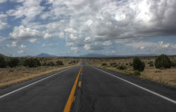 Rutt 66, Arizona, Amerika Royaltyfria Foton