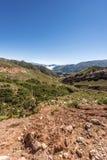 Rutt 13 till Iruya i det Salta landskapet, Argentina Royaltyfria Bilder